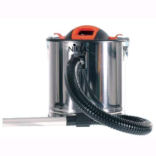 Aspiracenere Ribitech CENERILL 1000 watt bidone 18 litri stufe pellet caminetti