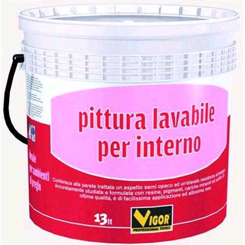 Pittura Murale Vigor Lavabile Int.Bianco Lt. 4   eBay